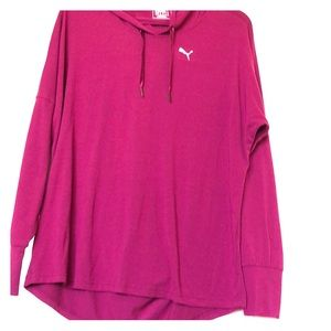 PUMA Women's Long Sleeve Workout Top w Open Back
